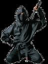 ниндзя, японский ниндзя, древний воин, средневековый воин, воин с мечом, двуручный меч, катана, черный, маска, меч ниндзи, удар мечом, оружие, оружие ниндзи, нин-дзюцу, разведчик, диверсант, тот кто прячется, лазутчик, наёмный убийца
