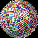глобус флаги стран мира, шар, globe flags of the world, globe flaggen der welt, globus, drapeaux globe du monde, globe, banderas globo del mundo, bandiere globo del mondo, bandeiras globo do mundo, globo