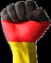 рука, кисть руки, жест, пальцы, часть тела, ладонь, кулак, пальцы сжаты в кулак, пальцы руки, указательный палец, флаг германии, германия, берлин
