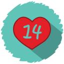 14 feburary icon