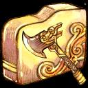 folder, axe