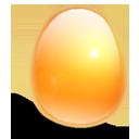 huevo, naranja, luz