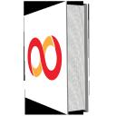 s icons, social, media, icons, books, set, 512x512, 0046, levels 1 copy 45