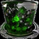 recycle bin full green