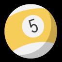 pool, billiards, yellow ball, бильярд, желтый шар