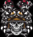 череп, человеческий череп, мотоциклетная эмблема, поршень, гаечный ключ, спортивный флаг, клетчатый флаг, черно белый флаг, skull, human skull, motorcycle emblem, wrench, sports flag, checkered flag, black-and-white flag, schädel, menschlicher schädel, motorrademblem, schlüssel, kolben, sportflagge, zielflagge, schwarz-weiße flagge, crâne, crâne humain, emblème de la moto, clé, piston, drapeau sport, drapeau à damiers, drapeau noir et blanc, cráneo, cráneo humano, emblema de la motocicleta, llave inglesa, pistón, bandera deportiva, bandera a cuadros, bandera en blanco y negro, teschio, teschio umano, emblema del motociclo, chiave inglese, pistone, bandiera sportiva, bandiera a scacchi, bandiera in bianco e nero, crânio, crânio humano, emblema da motocicleta, chave inglesa, pistão, bandeira de esportes, bandeira quadriculada, bandeira em preto e branco, людський череп, мотоциклетна емблема, гайковий ключ, спортивний прапор, картатий прапор, чорно-білий прапор