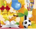 школьный набор рисунок, глобус, открытая книга, школьный звонок, футбольный мяч, карандаши в подставке, осенние листья, school set pattern, open book, school bell, soccer ball, pencil in the stand, autumn leaves, schule gesetzt muster, globus, offenes buch, schulglocke, fußball, bleistift in dem stand, herbstlaub, motif de l'école ensemble, globe, livre ouvert, cloche de l'école, un ballon de soccer, crayon dans le stand, les feuilles d'automne, patrón establecido la escuela, a libro abierto, campana de la escuela, balón de fútbol, lápiz en el soporte, hojas de otoño, scuola set pattern, libro aperto, scuola campana, pallone da calcio, matita nello stand, le foglie d'autunno, padrão estabelecido escola, globo, livro aberto, sino da escola, bola de futebol, lápis no suporte, folhas de outono