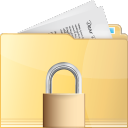 folder, lock