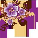 фиолетовые цветы, цветочный узор, purple flowers, floral pattern, lila blumen, blumenmuster, fleurs violettes, motif floral, flores de color púrpura, estampado de flores, fiori viola, motivo floreale, flores roxas, teste padrão floral, фіолетові квіти, квітковий візерунок