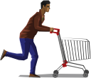 мужчина, шопинг, покупатель, торговая тележка, man, buyer, shopping trolley, mann, einkaufen, käufer, einkaufswagen, homme, courses, acheteur, caddie, hombre, carro de compras, uomo, shopping, compratore, carrello della spesa, homem, compras, comprador, carrinho de compras, чоловік, шопінг, покупець, торгівельний візок