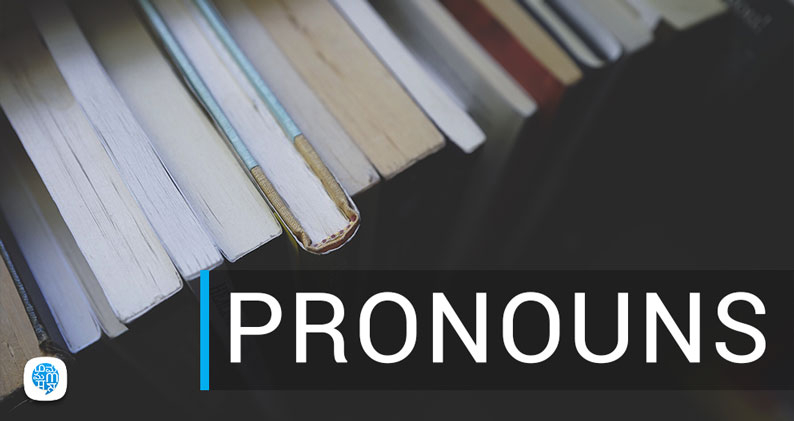 pronouns book