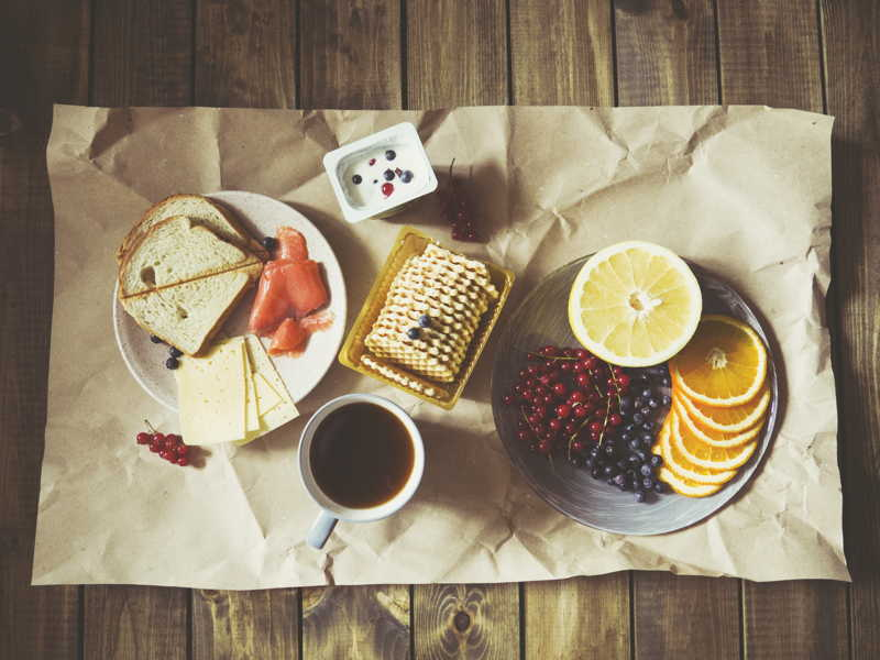 nice picture of breakfast