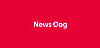 news dog logo