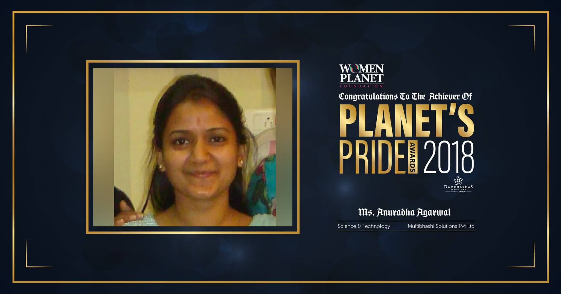 women planet foundation award