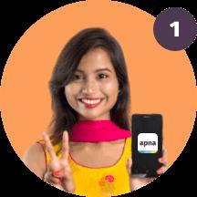 Download the apna mobile app Image