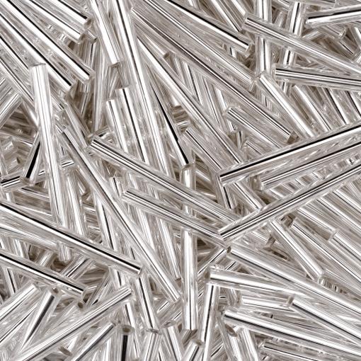 Canutilho Preciosa® Ornela Prata Transparente (78102) 30mm