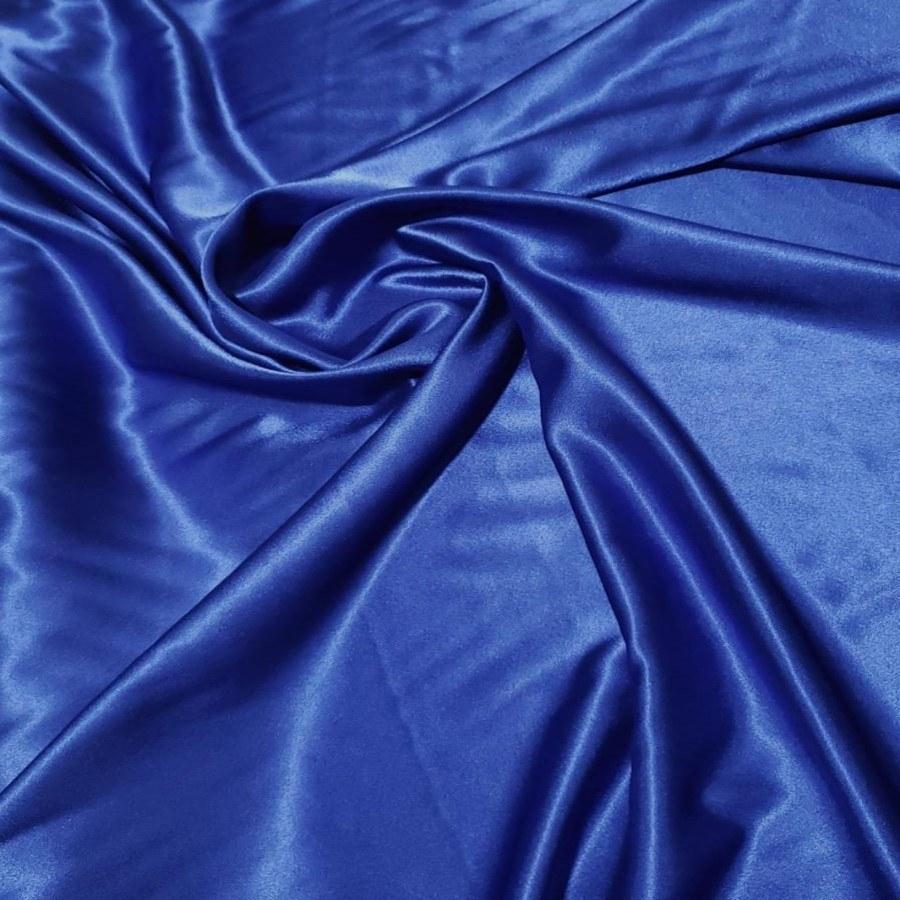 Cetim Mellow Toque de Seda Azul Royal