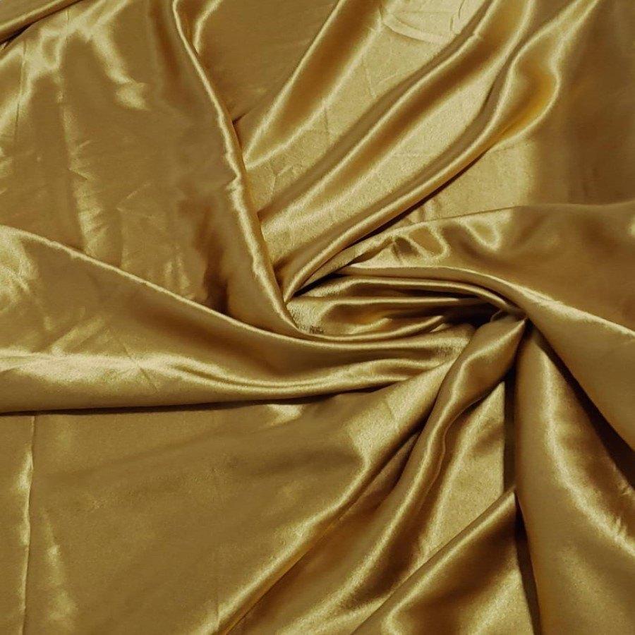 Cetim Mellow Toque de Seda Dourado