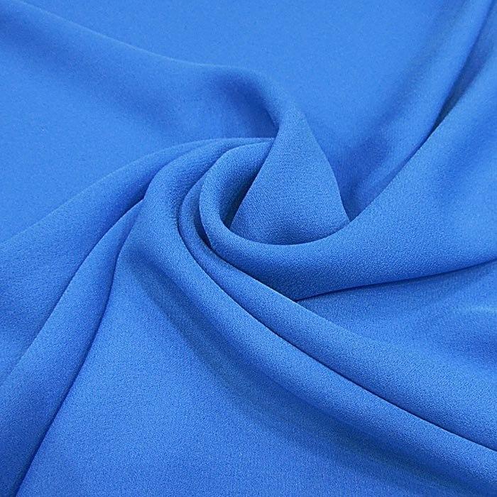 Tecido Crepe Georgette Azul