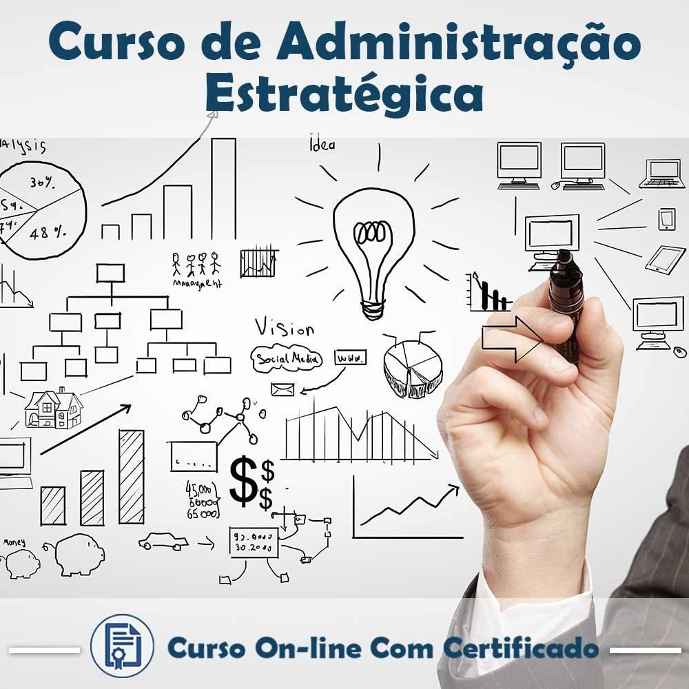Curso online em videoaula Administração Estratégica com Certificado