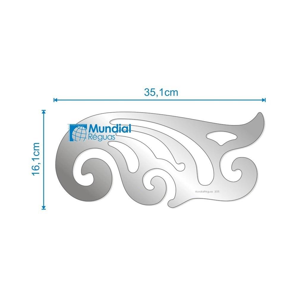 Curva Francesa 35 cm (grande)