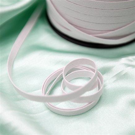 Elástico branco 7 mm - 1 unidade = 1 metro