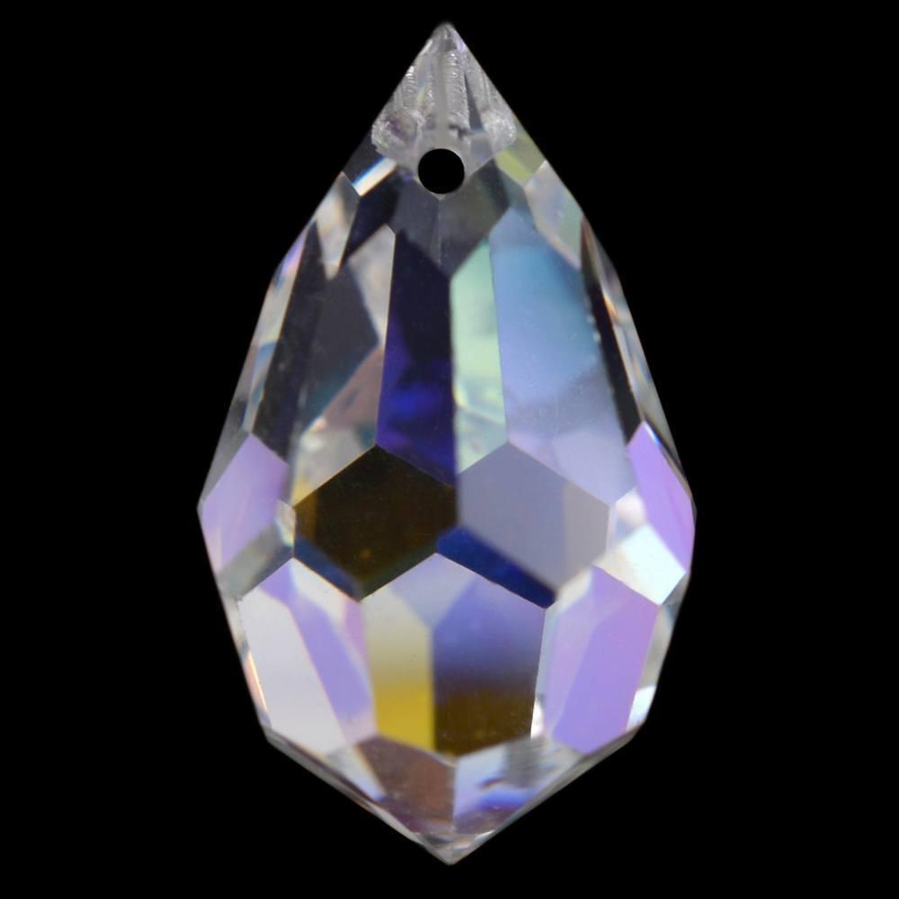 Gota Drops Preciosa Cristal AB 15x9mm 144pcs