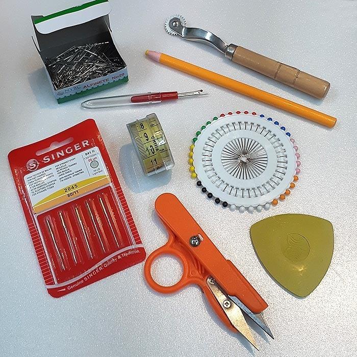 Kit Básico Para Costura - 9 peças