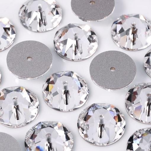 Lantejoula de Cristal para costura Swarovski® art. 3188 Cristal (001) 10mm