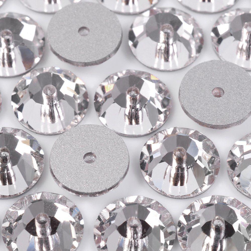Lantejoula Preciosa Cristal 8mm 144pcs