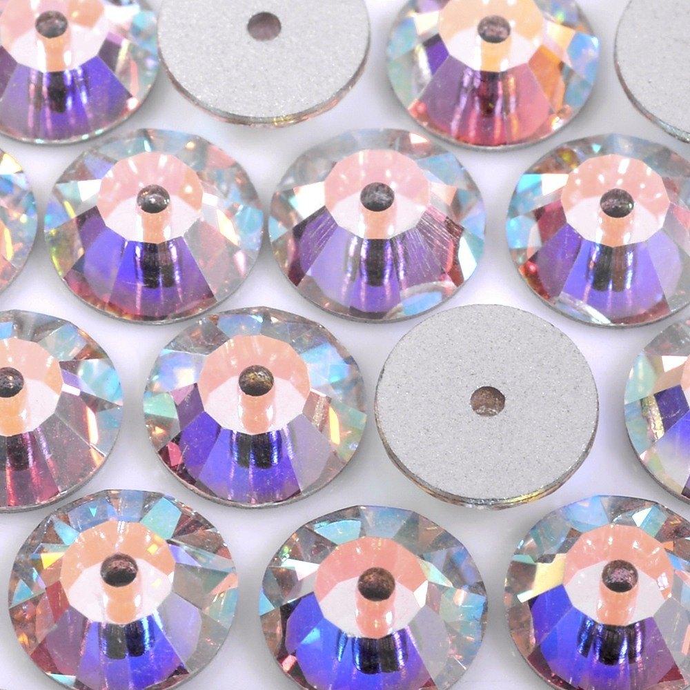 Lantejoula Preciosa Cristal AB 6mm 288pcs