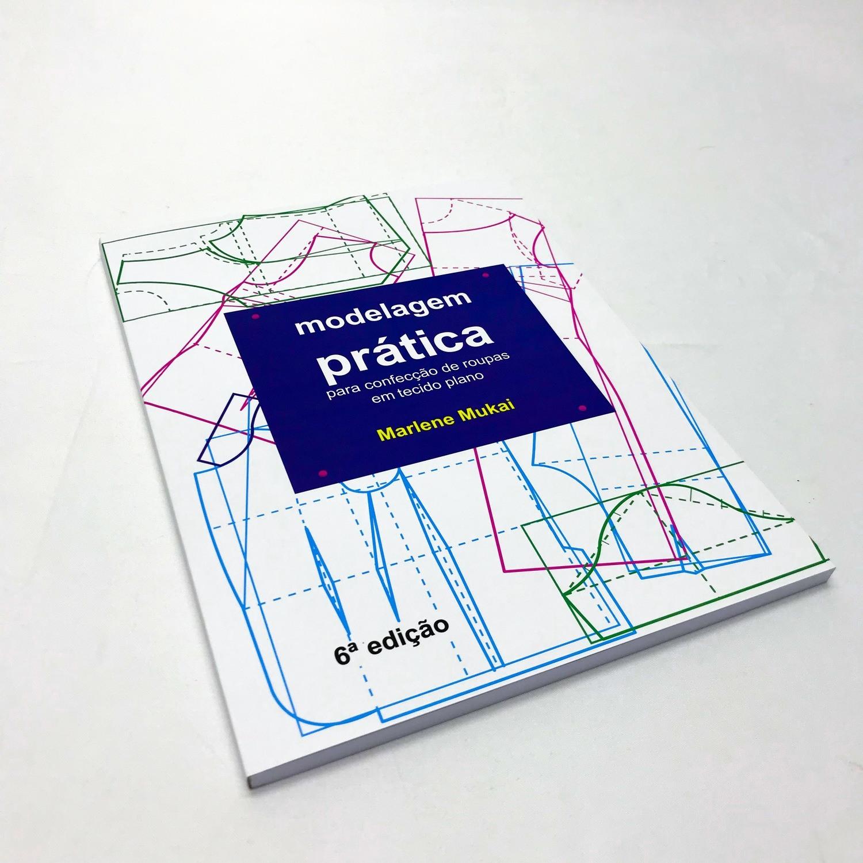 Livro Modelagem prática para confecção ED.6ª - Marlene Mukai