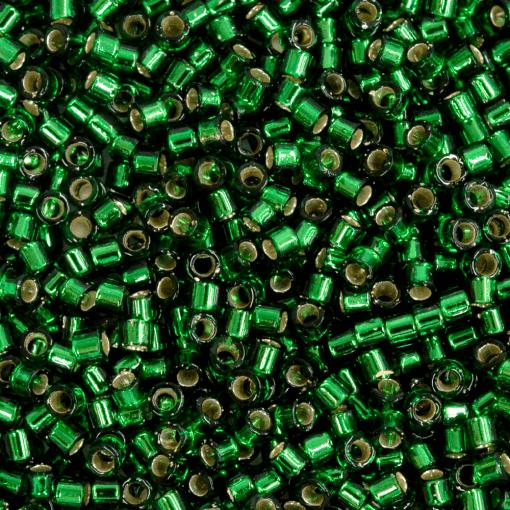Miçanga de Vidro Delica Miyuki Verde Transparente (DB148) 11/0 = 1,6mm