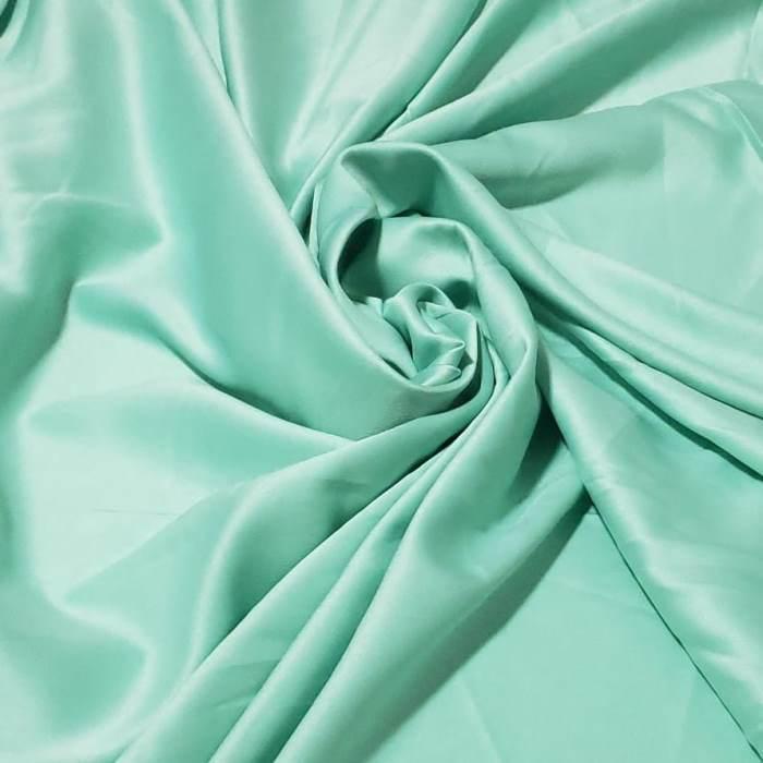Tecido Crepe Amanda Verde Piscina