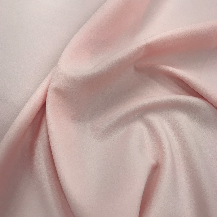 Tecido Crepe Aya Rosa Bebê - Pantone 7422 C