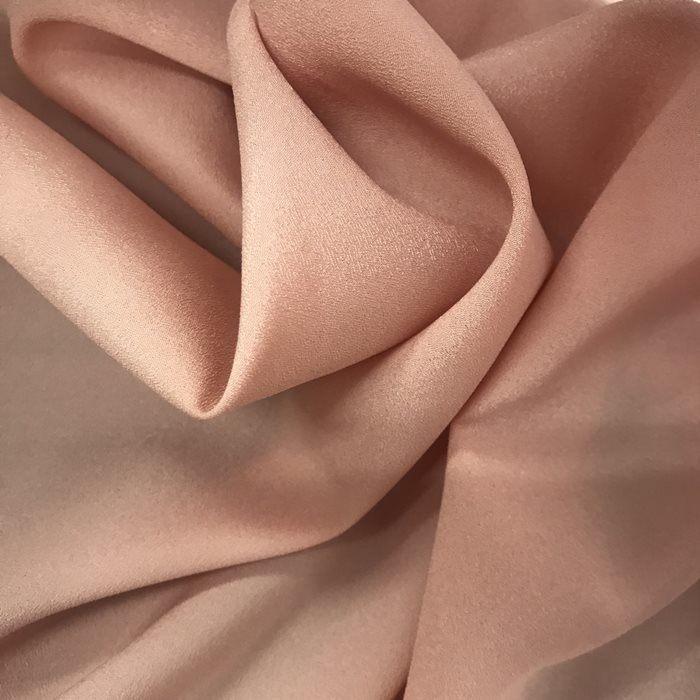 Tecido Crepe Aya Rosé - Pantone 1625 C