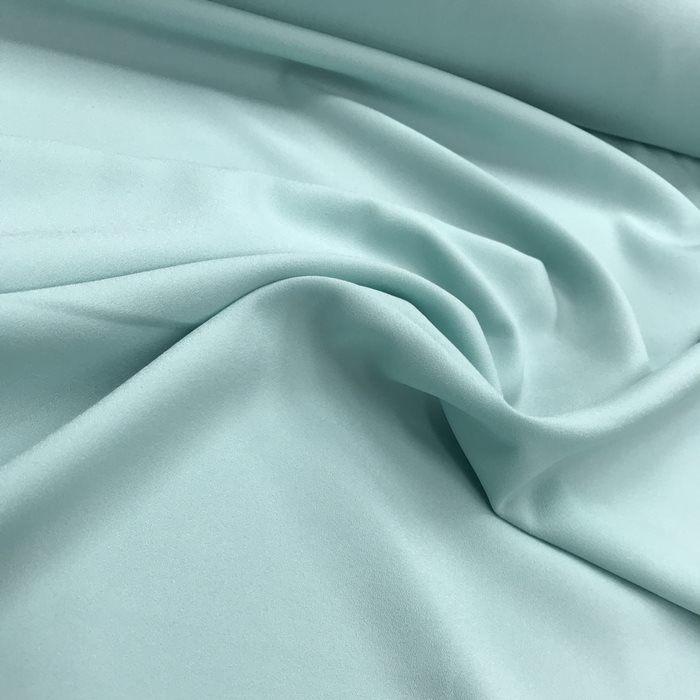 Tecido Crepe Aya Verde Água Pantone - 317 C