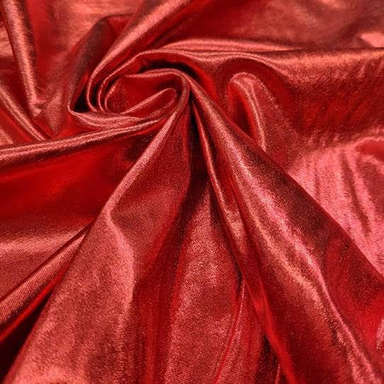 Tecido Lurex Especial Vermelho