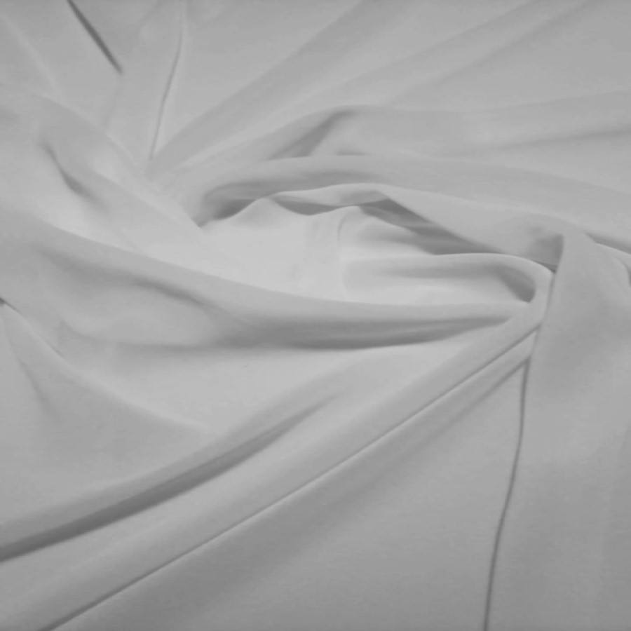 Tecido Museline Toque de Seda Branca