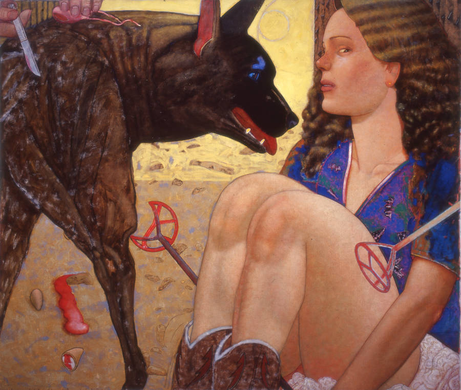 Pat Andrea, El dia de la Yena, 1982, particuliere collectie