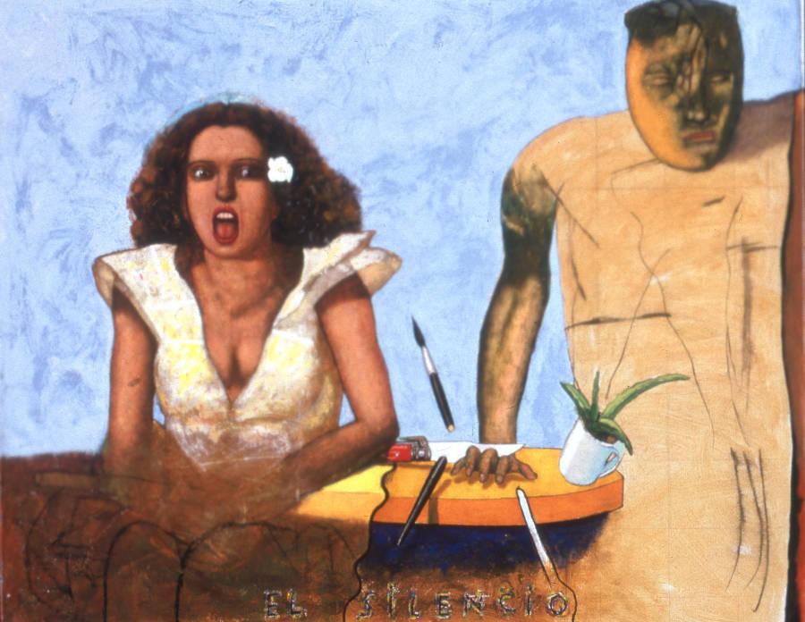 Pat Andrea, El silencio, 1982, particuliere collectie