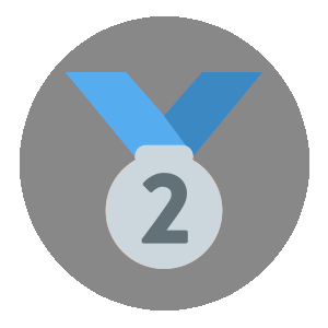 2nd Place badge