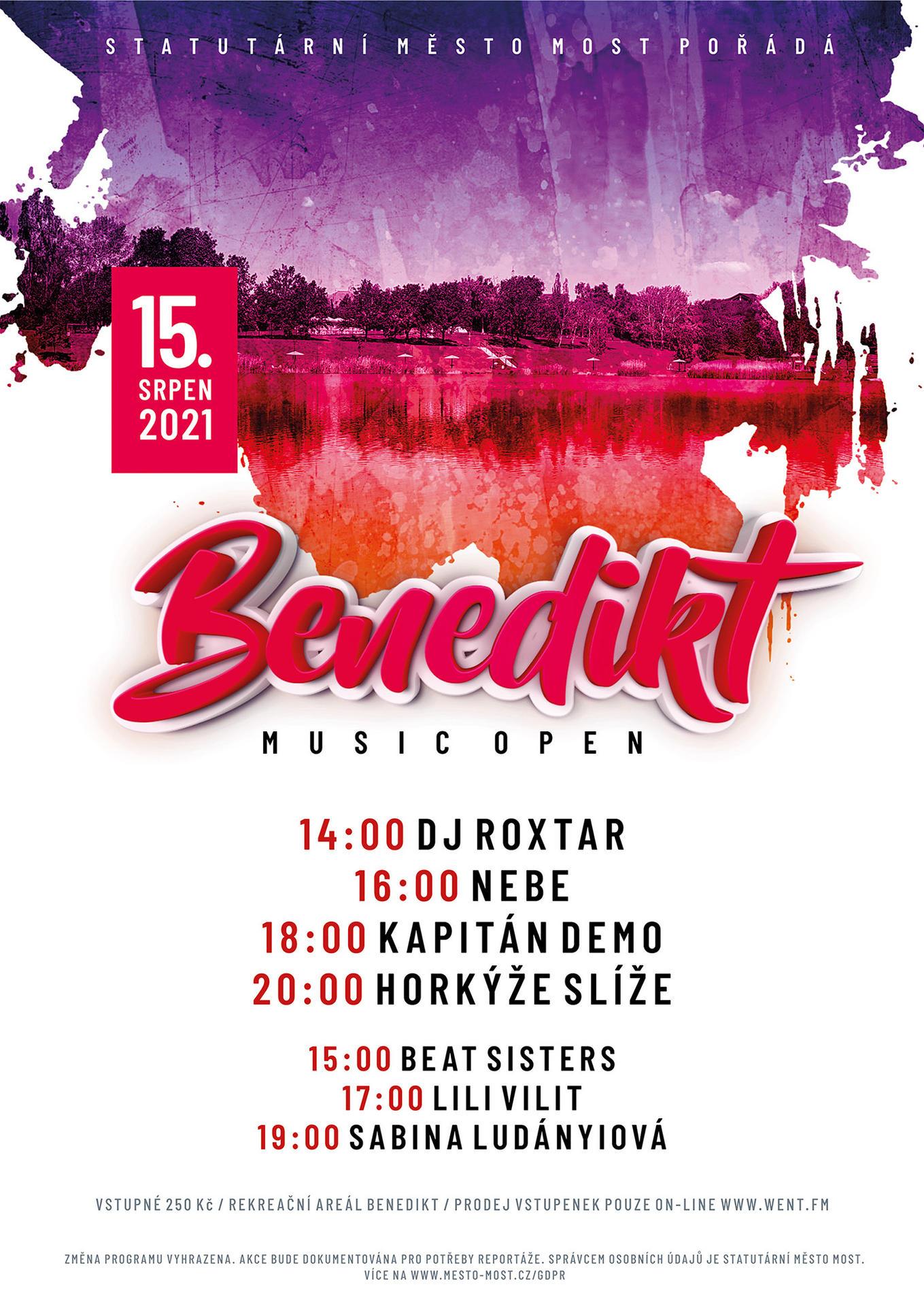 Benedikt Music Open