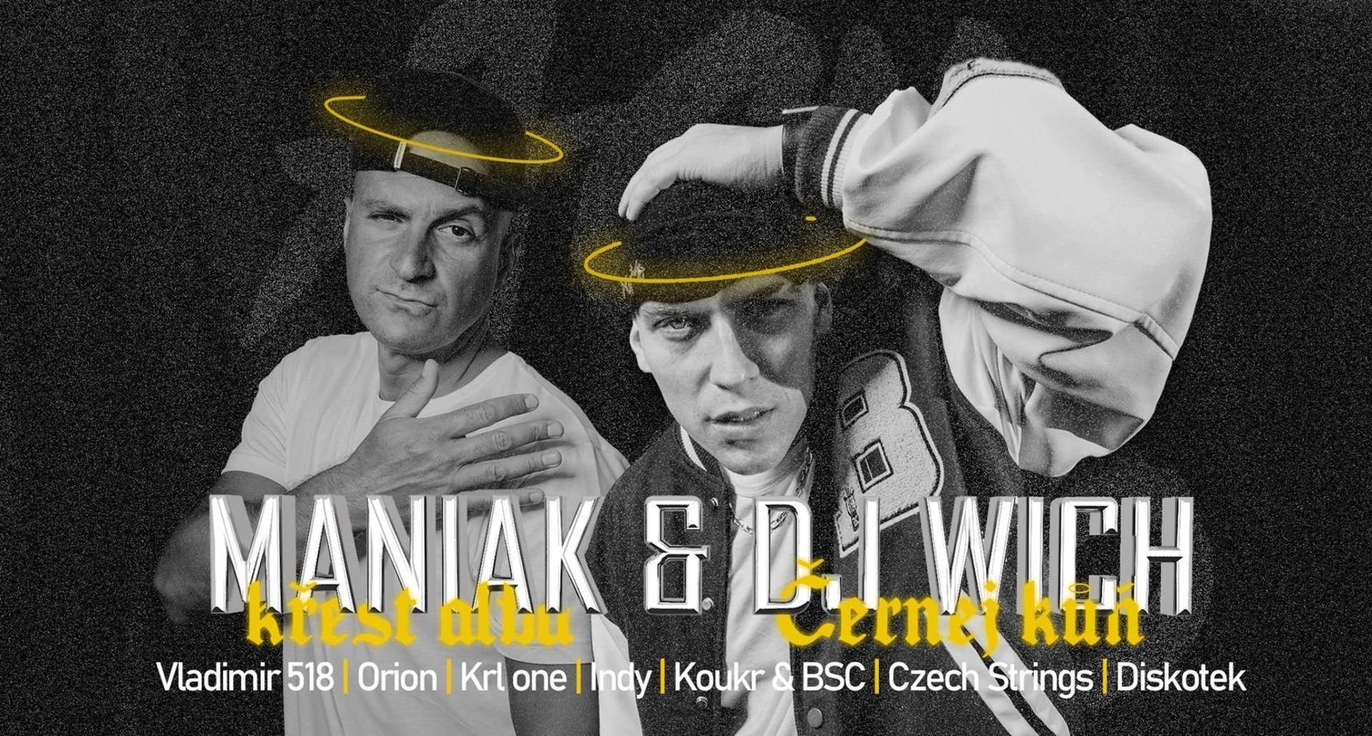 Ach Ano: Maniak & DJ Wich | křest alba...