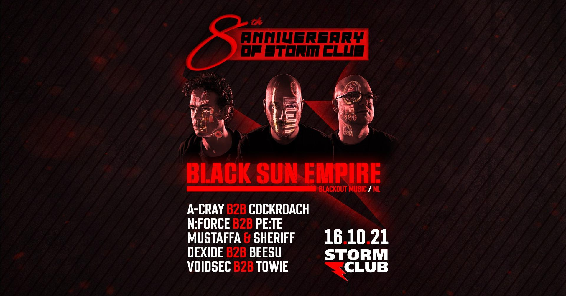 Black Sun Empire + support: A-Cray + další