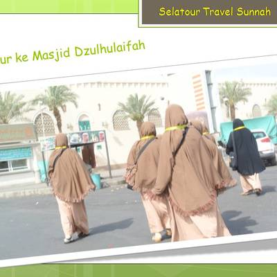 Tour ke Masjid dzulhulaifah