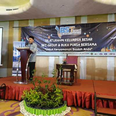 Sambutan Kanwil Provinsi Banten - Acara Gathering dan Buka Bersama BS Travel