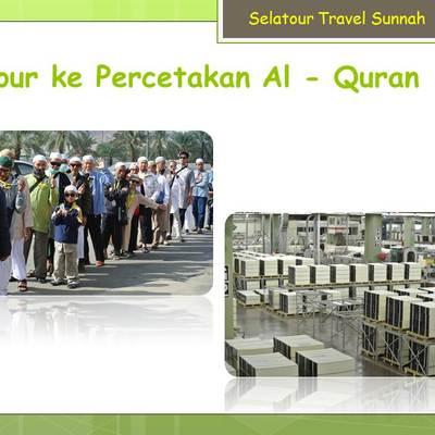 Tour ke Percetakan Al-Qur'an