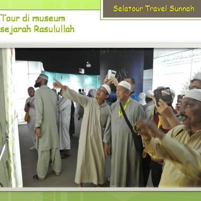 Tour di museum Sejarah Rasulullah