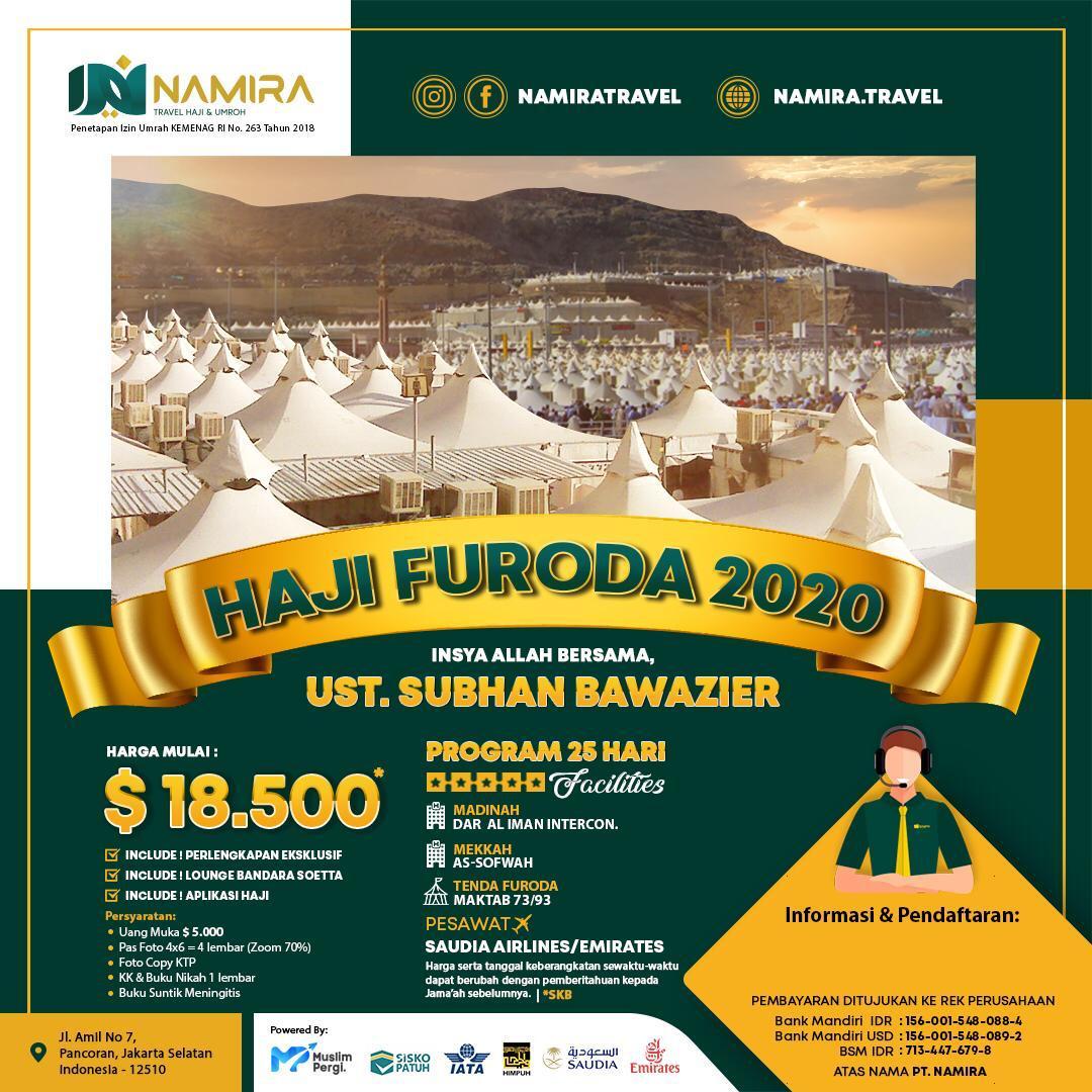 HAJI FURODA 2020 VIP
